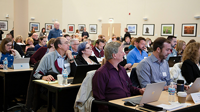 Attendees at Applied Systems Implementation Program event in University Park, Illinois.